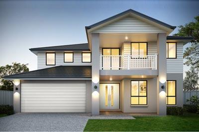 Calais Home Design - Double Storey | Marksman Homes - Illawarra Home Builder