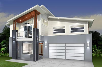 Daintree Cove Home Design - Double Storey | Marksman Homes - Illawarra Home Builder