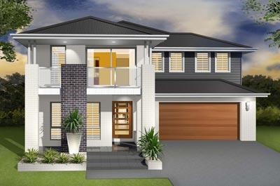 The Daintree Home Design - Double Storey | Marksman Homes - Illawarra Home Builder