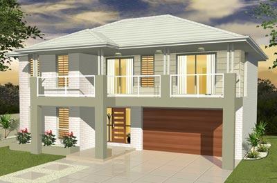 Entertainer Home Design - Double Storey | Marksman Homes - Illawarra Home Builder