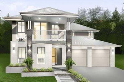 Lindeman Home Design - Double Storey | Marksman Homes - Illawarra Home Builder