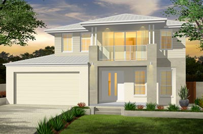 Madison Home Design - Double Storey | Marksman Homes - Illawarra Home Builder