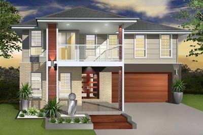 Sea Crest II Home Design - Double Storey | Marksman Homes - Illawarra Home Builder