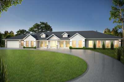Acreage - The Grange Home Design - Dormer Facade