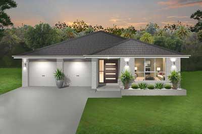 Palm Beach Home Design - Single Storey | Marksman Homes - Illawarra Home Builder