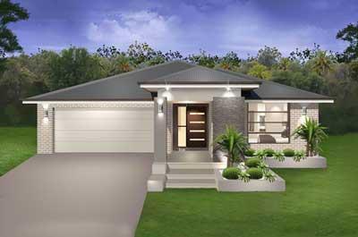 Seachange Home Design - Single Storey | Marksman Homes - Illawarra Home Builder